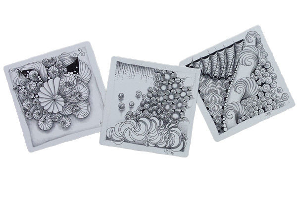 Zentangle Basis-Kurs - Tina Hunziker
